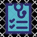 Health Checklist Icon