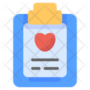 Checkup Medical Raport Icon