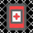 Health Data Health Care Icon