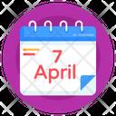 Planner Date Calendar Icon