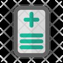 Health Document Icon Icon