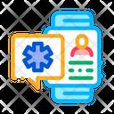 Smart Watch Health Icon