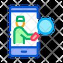 Health Examination Phone Icon
