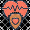 Insurance Life Heart Icon