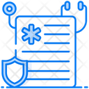 Health Insurance Insurance Policy Agreement Icon