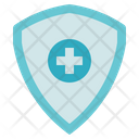 Medical Service Health Insurance Shield Icon