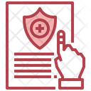 Health Insurance Healthcare Insurance Injured Icon