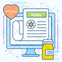 Medical News Health News Hospital News Icon