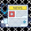 Newspaper News Health News Icon