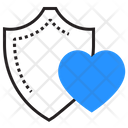 Health Protection Heart Icon