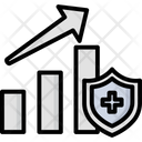 Health Recovery Chart Graph Icon
