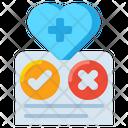 Health Regulations Health Regulation Health Checkup Icon