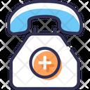 Health Service Emergency Call Medical Helpline Icon