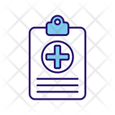 Health Test Medical Report Report Icon