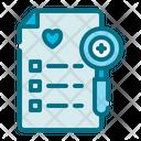 Test Medical Health Icon