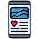Health Tracker Application Exercise Gym Icon