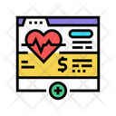 Health Web Subscription Health Web Icon