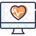 Health Website Online Health Check Online Icon