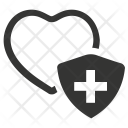 Healthcare Heart Protection Icon