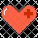 Service Mind Healthcare Heart Icon