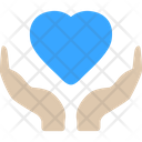 Heart Care Cardiogram Icon