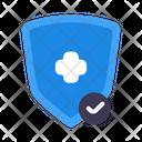 Protect Vaccine Shield Icon