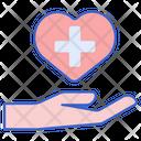Healthcare Covid Hand Icon