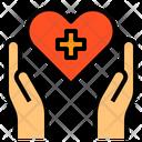 Healthcare Care Hands Icon