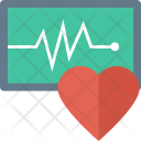 Healthcare Heartbeat Pulsation Icon