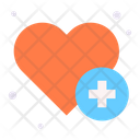 Healthcare Cardiology Heart Icon
