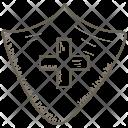 Healthcare Medical Shield Icon