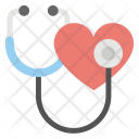Heart Health Cardiology Icon