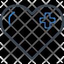 Heart Healthcare Cardiology Icon