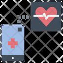 Heart Rate Sensor Health Fitness Icon