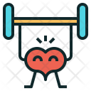 Healthy Heart Workout Icon
