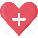 Healthy Heart Health Care Icon