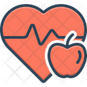 Healthy Healthful Active Icon