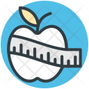 Healthy Diet Apple Icon