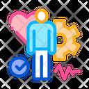Healthy Medical Person Icon