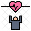 Healthy Heart Strong Icon