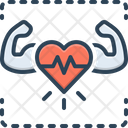 Healthy Robust Cardiac Icon