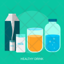 Healthy Drink Water Icon