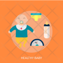 Healthy Baby Milk Icon