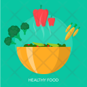 Healthy Food Vegetables Icon