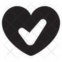 Healthy Heart Heartbeat Icon