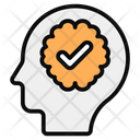Healthy Brain Mind Intellect Icon