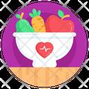 Healthy Food Fruit Organic Food Icon
