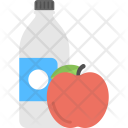 Water Apple Healthy Icon