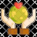 Healthy Earth Icon