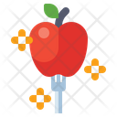 Healthy Eating Diet Food Apple Icon